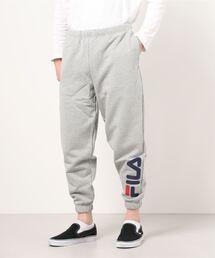 【 FILA / フィラ】 FILA / フィラ × MAJORFORCE  Sweat pants FS0101・・ スウェットパンツアッシュグレー