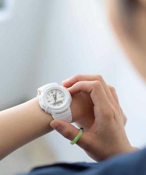 "BEAMS BOY(ビームスボーイ)の「g-shock mini / ""GMN-500-7BJR/1BJR""(腕時計)」|ホワイト"