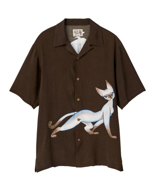 シャミー1000&理知的型 アロハシャツ