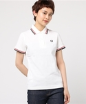 FRED PERRY | Twin Tipped Fred Perry Shirt (Made in England)(ポロシャツ)