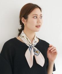 KATHARINE ROSS(キャサリンロス)の【KATHARINE ROSS】 WEB限定 タッセル柄ミニスカーフ(バンダナ/スカーフ)