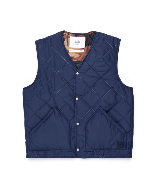 Sonic Quilted Vest Size:L