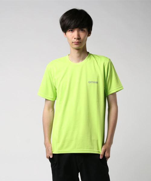 【OUTDOOR PRODUCTS/アウトドアプロダクツ】スーパークールTシャツ/猛暑対策/冷感/ブランドロゴ