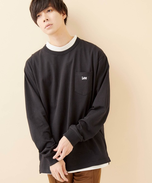 Lee/リー EMBROIDERY L/S TEE ロゴ刺繍長袖カットソー