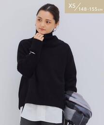 [ XS / H148-155cm ] ★★ FFC タートル プルオーバー ニット