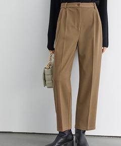 【Fano Studios】【2021AW】High waist 2 tuck slacks FD20K045