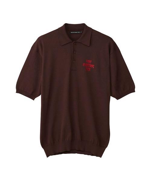 SPOOKY LOGO刺繍 ポロシャツ