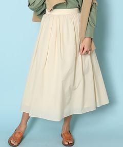 アメリカンラグシー AMERICAN RAG CIE / エアリータックギャザースカート Airy Tuck Gathered Skirt