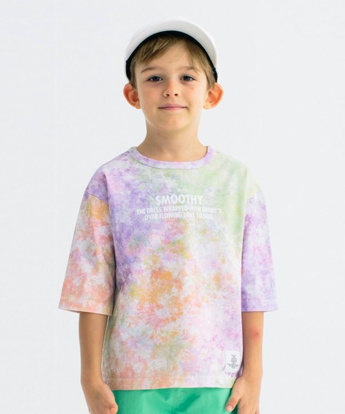 Smoothy Tie Dye Big Tee / スムージー タイダイビッグTシャツ