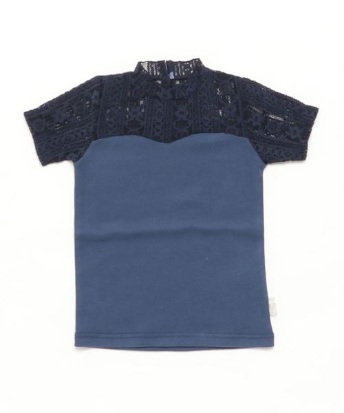 [100-120]ストレッチレースTシャツ
