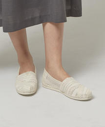 <TOMS> Embroidered Mesh スリッポン