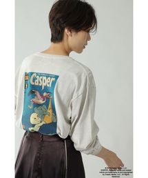 CREOLME(クレオルム)の(CREOLME)【CREOLME別注】CasperロングTシャツ(Tシャツ/カットソー)