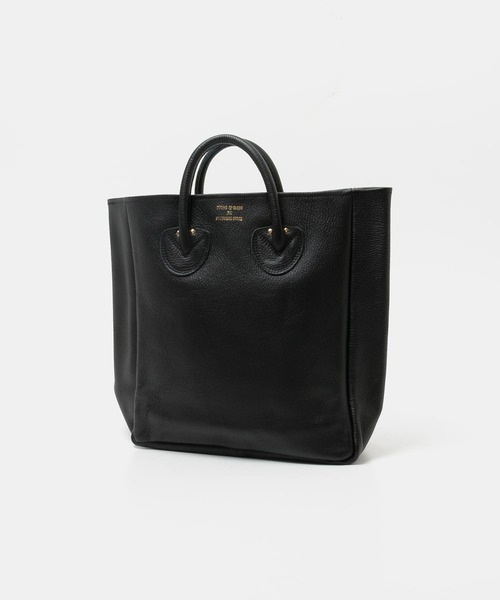 YOUNG&OLSEN The DRYGOODS STORE(ヤングアンドオルセン)の「YOUNG&OLSEN EMBOSSED LEATHER TOTE M(トートバッグ)」 ブラック
