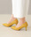 menue(メヌエ)の「イイ女ポインテッド 7cmヒール パンプス(パンプス)」|イエロー