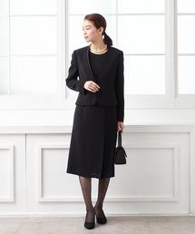 5391de437e462 BLACK FORMAL(ブラックフォーマル)の「 喪服・礼服 V字ジャケット