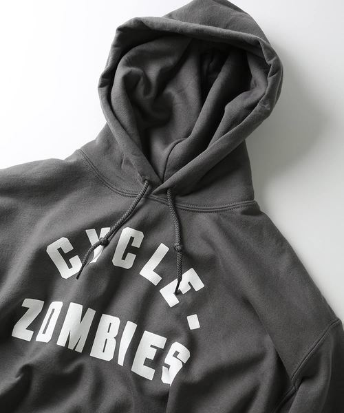 CycleZombies / サイクルゾンビーズ BLOCKHEAD HOOD SWEATSHIRT/パーカー