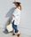 Khaju(カージュ)の「【WEB限定】Khaju:サイドスリットビッグTEE◆(Tシャツ/カットソー)」 ホワイト