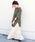 Khaju(カージュ)の「【WEB限定】Khaju:サイドスリットビッグTEE◆(Tシャツ/カットソー)」 オリーブ