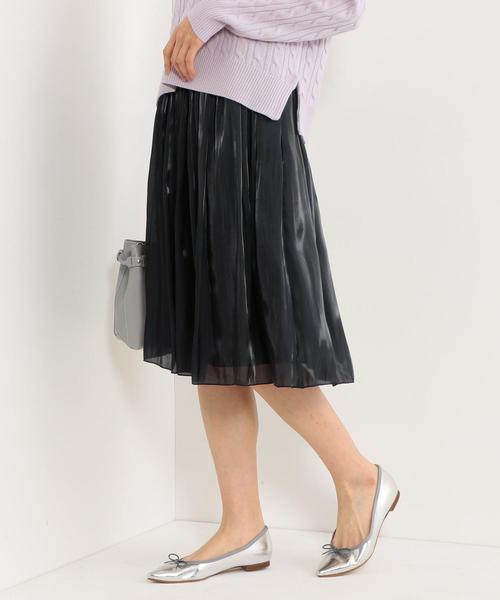 <closet story>□ヘンコウ ギャザースカート -手洗い可能-