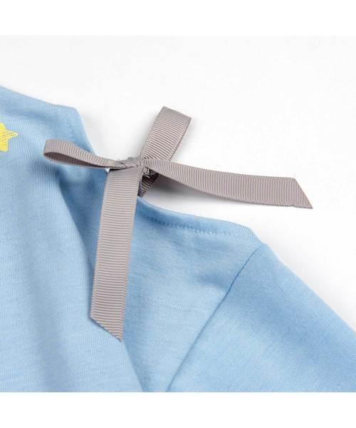 ガールズ 長袖肩見せTシャツ 全2柄