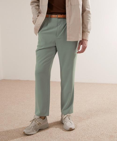 ブライトポプリンワイドシルエットアンクルパンツ/シェフパンツ Poplin Chef Pants(EMMA CLOTHES)