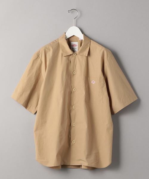 <DANTON (ダントン)> LOGO S/SHT/シャツ