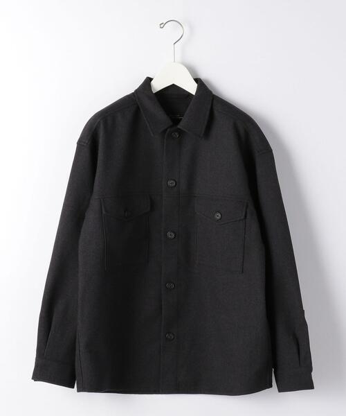 <機能/マシン洗濯可  ストレッチ > カジュアルセットアップ TECH フラノ CPO シャツ