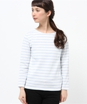 BEAMS LIGHTS Women's | BEAMS LIGHTS× CHANTECLAIR / ボーダープルオーバー(Tシャツ・カットソー)