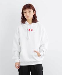 X-girl(エックスガール)のCHAMPION x X-girl SWEAT HOODIE(パーカー)