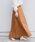 SHIPS(シップス)の「【手洗い可能】テレデランリネンスカート◇(スカート)」 ブラウン