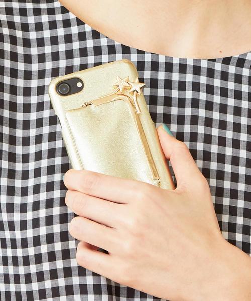 【WEB限定】<Hashibami>レザーガマグチポーチ iphone7/8/6/6sカバー