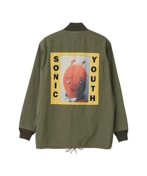 SONIC YOUTH/DIRTY アーミーリメイク フィールドジャケット