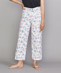 <Tach clothing>デニムフローラルパンツ