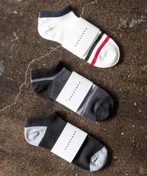 HARUSAKU CC(ハルサクシーシー)のHARUSAKU CC  Men's Sneaker socks 3P set :メンズスニーカーソックス3Pセット(ソックス/靴下)