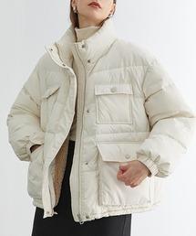 【Fano Studios】【2021AW】High neck bore down jacket FD20M033オフホワイト