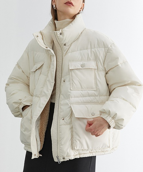 【Fano Studios】【2021AW】High neck bore down jacket FD20M033