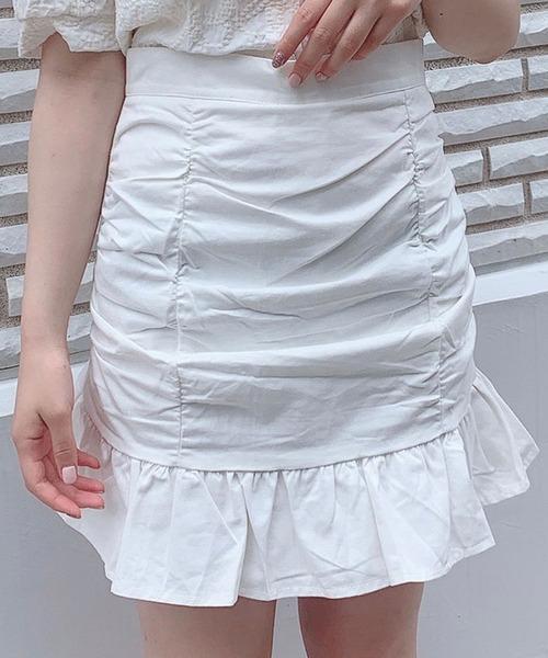 【Crea titty&Co.PETIT】Crea フリルミニスカート