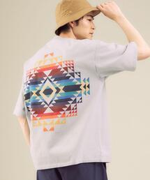 [ ペンドルトン ] PENDLETON ネイティブ プリント Tシャツ