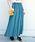 Khaju(カージュ)の「Khaju:リラックスマキシスカート18SS◇◇(スカート)」|グリーン