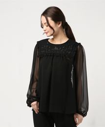 6d59732594d38 franche lippee|フランシュリッペのシャツ ブラウス(長袖)通販 - ZOZOTOWN