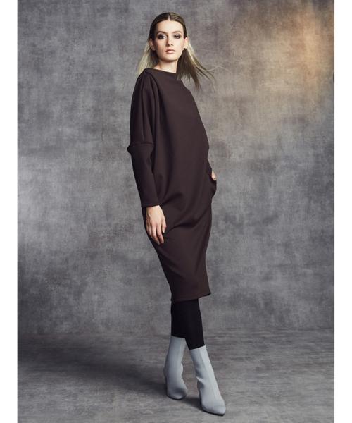 魅力的な価格 SOV. レクチュール CLOTHING,ダブル ダンボールニットワンピース(ワンピース) STANDARD DOUBLE STANDARD CLOTHING(ダブルスタンダードクロージング)のファッション通販, カワチナガノシ:d947abee --- hundefreunde-eilbek.de