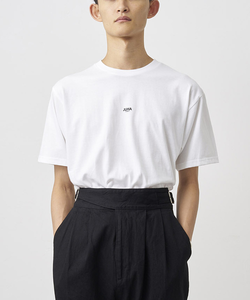 JUHA(ユハ)の「'PHILOSOPHY' PRINT T-SHIRT(Tシャツ/カットソー)」|ホワイト