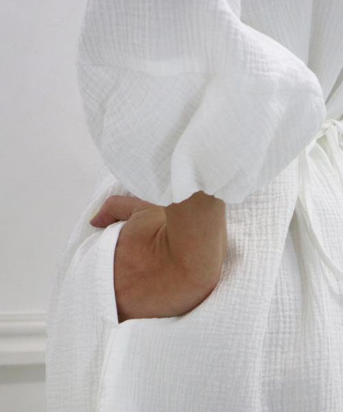 【s.t.closet frabjous/エスティ・クローゼット・フラブジャス】『着る保湿クリーム』つぼみワンピース
