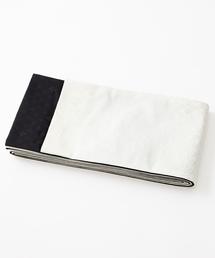 ふりふ(フリフ)の半巾帯「扇面ドロップ」(和装小物)