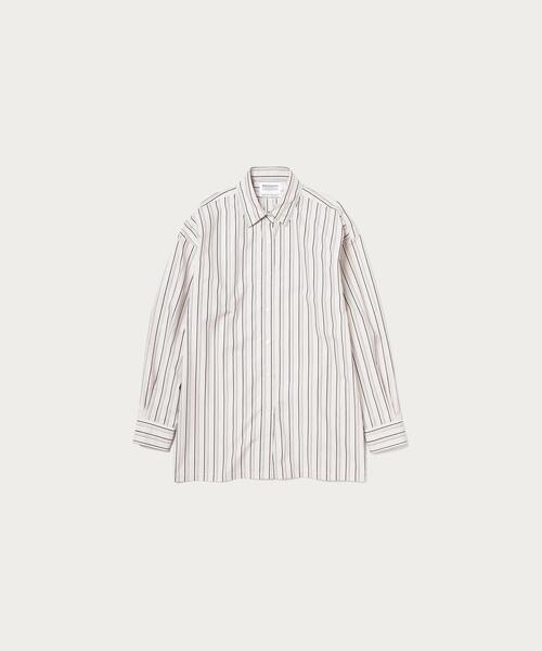 BY∴ TRADITIONAL 100/2 コットンワイドシャツ