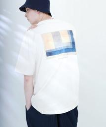 ART×EMMA CLOTHES別注 アート転写プリントビックシルエット半袖カットソー バックプリント グラフィック カットソーその他2