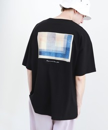 ART×EMMA CLOTHES別注 アート転写プリントビックシルエット半袖カットソー バックプリント グラフィック カットソーその他4