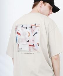 ART×EMMA CLOTHES別注 アート転写プリントビックシルエット半袖カットソー バックプリント グラフィック カットソーその他5