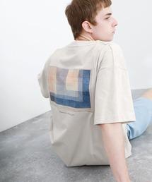 ART×EMMA CLOTHES別注 アート転写プリントビックシルエット半袖カットソー バックプリント グラフィック カットソーその他6