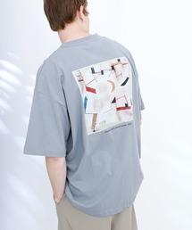ART×EMMA CLOTHES別注 アート転写プリントビックシルエット半袖カットソー バックプリント グラフィック カットソーその他7